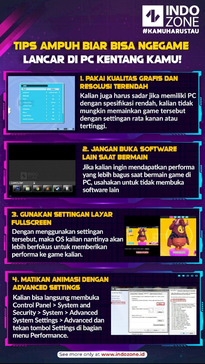 Tips Ampuh Biar Bisa Ngegame Lancar di PC Kentang Kamu!