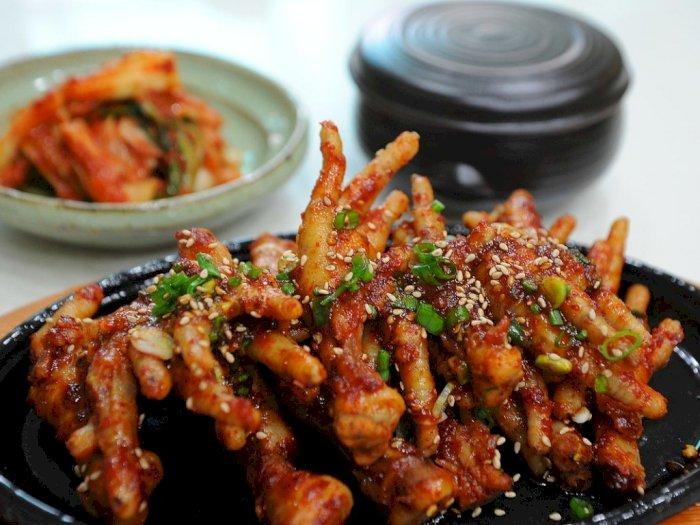 Resep Mudah Ceker Ayam Saus Pedas Ala Korea