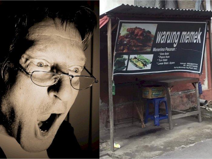 Warung Makan Memek Bikin Heboh Netizen, Jualannya Bikin Penasaran
