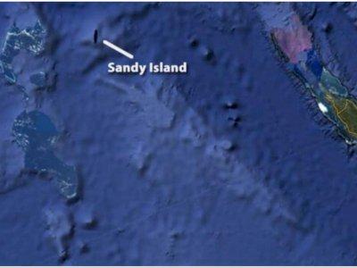 Sandy Island, Pulau Misterius di Dalam Peta yang Tak Dapat Ditemukan