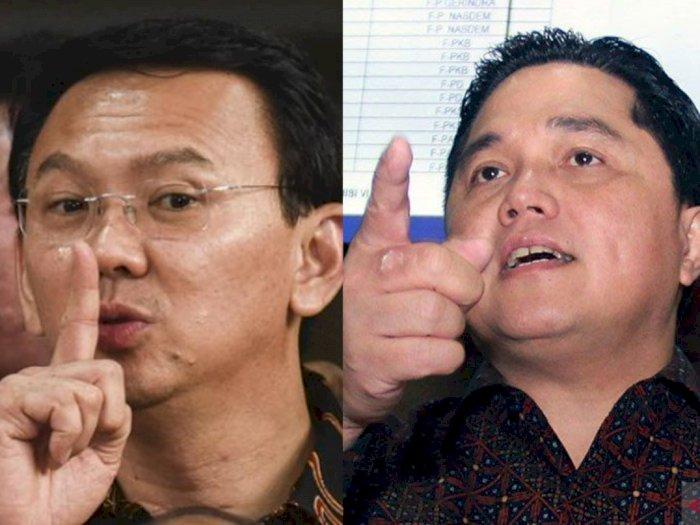 Erick Thohir Vs Ahok Soal Kementerian BUMN, Refli: Jokowi dan Ahok Lebih Punya Chemistry