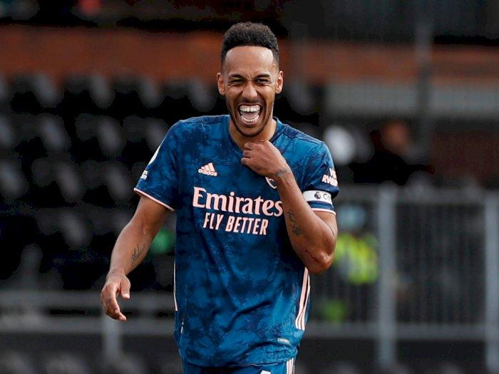 Gooners, Akhirnya Aubameyang Teken Kontrak Baru Berdurasi 3 Tahun dengan Arsenal!