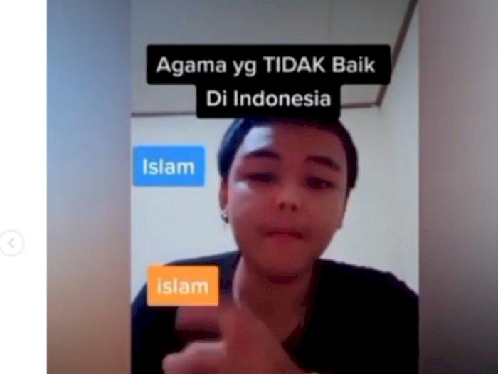 Sebut Islam Agama Tidak Baik di Indonesia, Cowok Ini Viral hingga Habis Dihujat Netizen