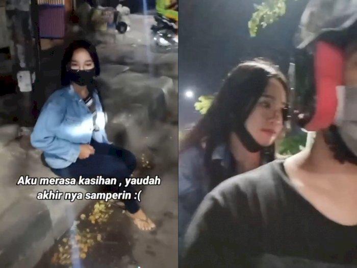 Viral Pria Ketemu Cewek Nangis di Pinggir Jalan, Pas Ditanya Kenapa Ternyata Karena Ini!
