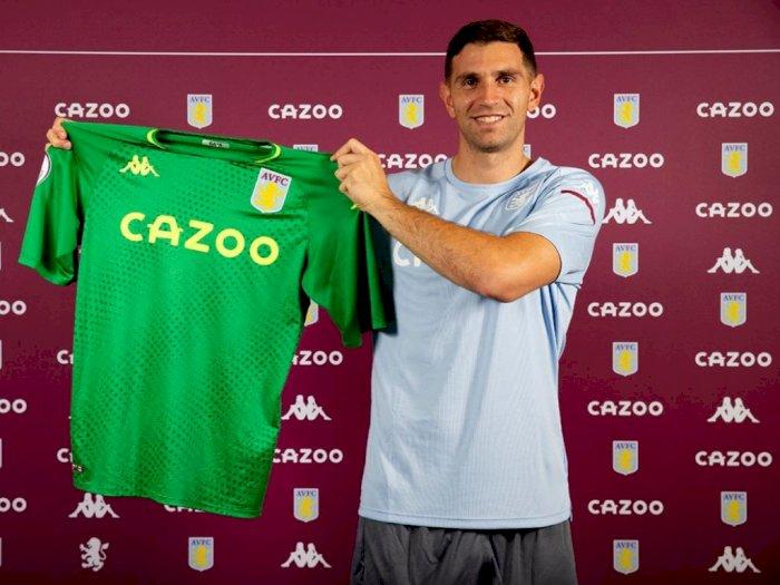 Aston Villa Resmi Dapatkan Emiliano Martinez dengan Mahar 20 Juta Pounds