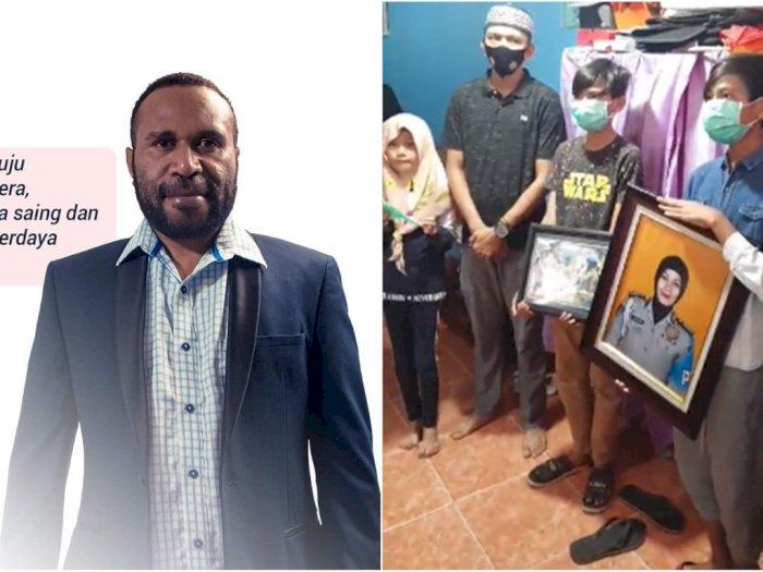 Anak Polwan yang Ditabrak Wakil Bupati Masih Kecil, Kapolda Papua Beri Santunan Rp50 Juta