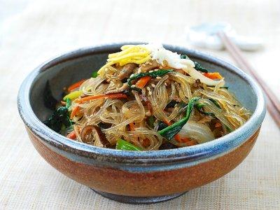 Resep Japchae atau Tumis Soun Sayuran Ala Korea