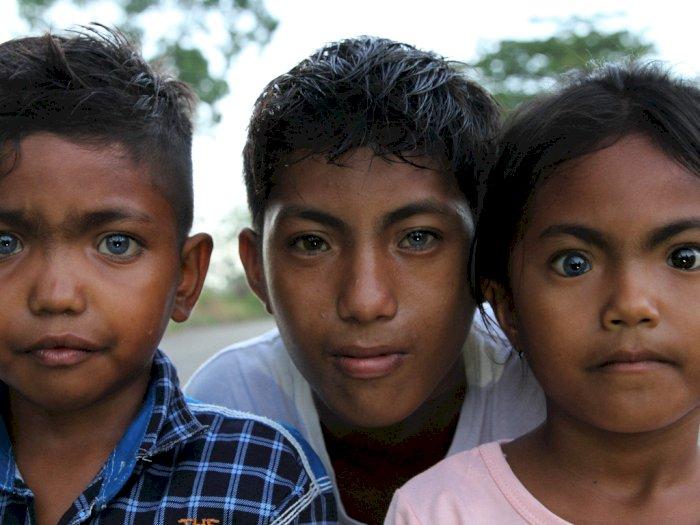 FOTO: Mata Biru dan Merah dari Pulau Buton dan Muna