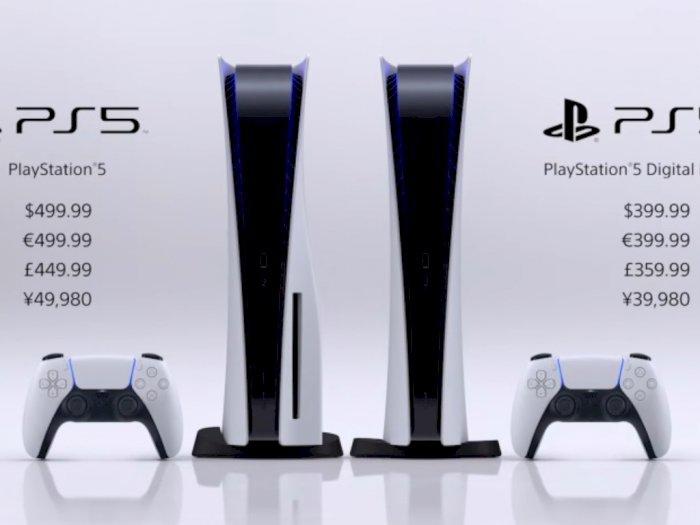 Harga PlayStation 5 Tak Sampai Rp 8 Juta