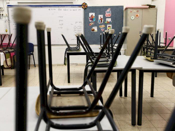 FOTO: Israel Menutup Sebagian Besar Sekolah Menjelang Lockdown
