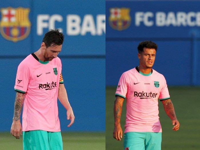 Messi dan Coutinho Beri Harapan Baru untuk Debut Koeman di Barca
