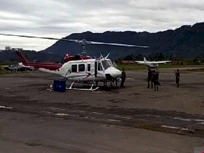 Helikopter Dikabarkan Hilang Kontak di Papua