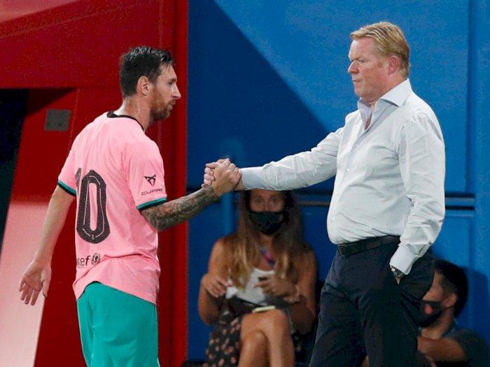 FOTO: Barcelona vs Girona 3-1, Messi Menyumbang Dua Gol