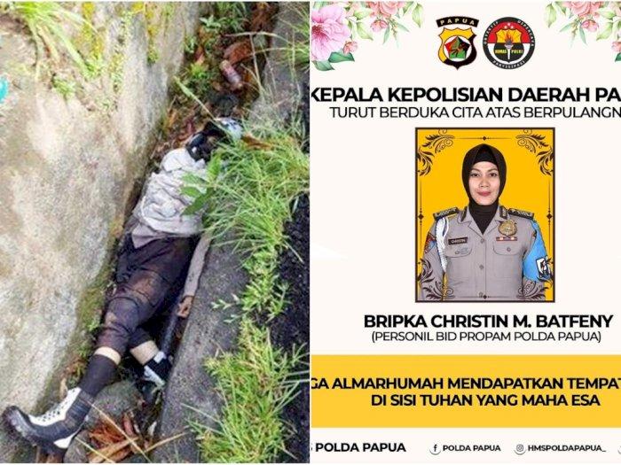 Polwan Baik Hati Tewas Ditabrak Wakil Bupati di Papua yang Diduga Mabok Naik Mobil