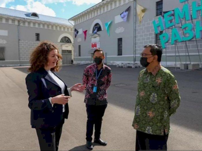 KBRI Moskow dan Museum Moskow Berencana Jalin Kerjasama Bidang Seni