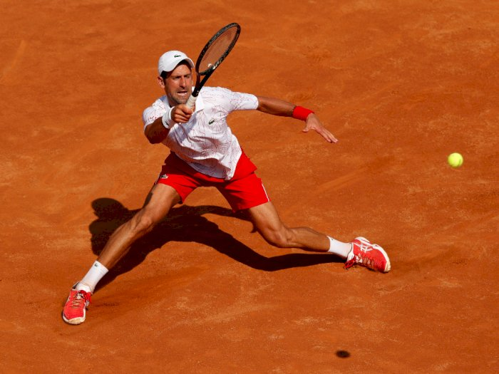 FOTO: Novak Djokovic Kembali Ke Jalur Kemenangan di Roma