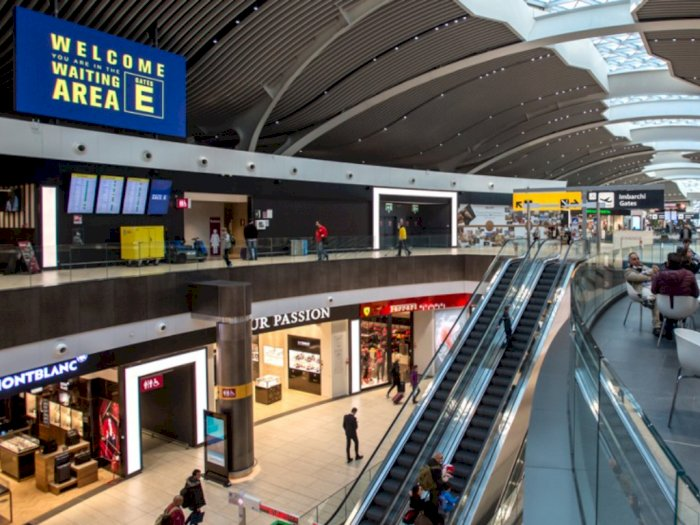 Siaga Tangani Corona, Bandara Ini Dapat Bintang 5 Dalam Hal Kebersihan