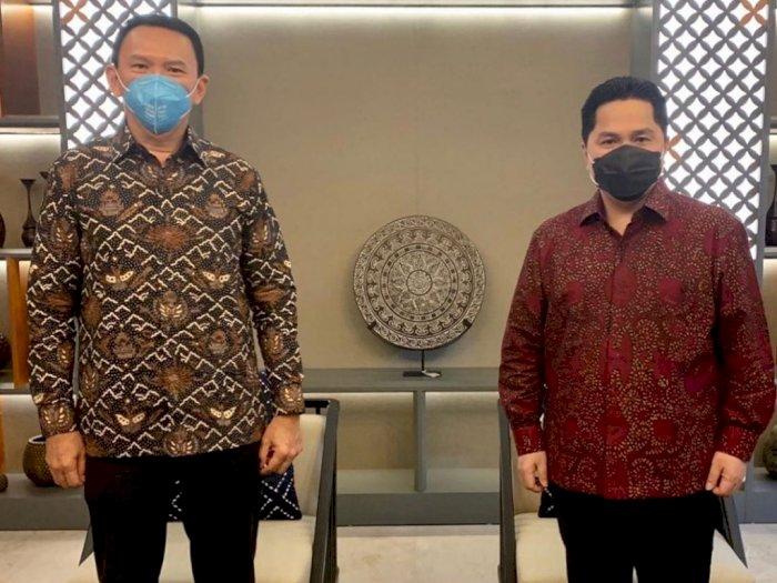 Ketemu Menteri BUMN Erick Thohir, Ahok Kena Sentil Usai Bongkar Bobrok Internal Pertamina
