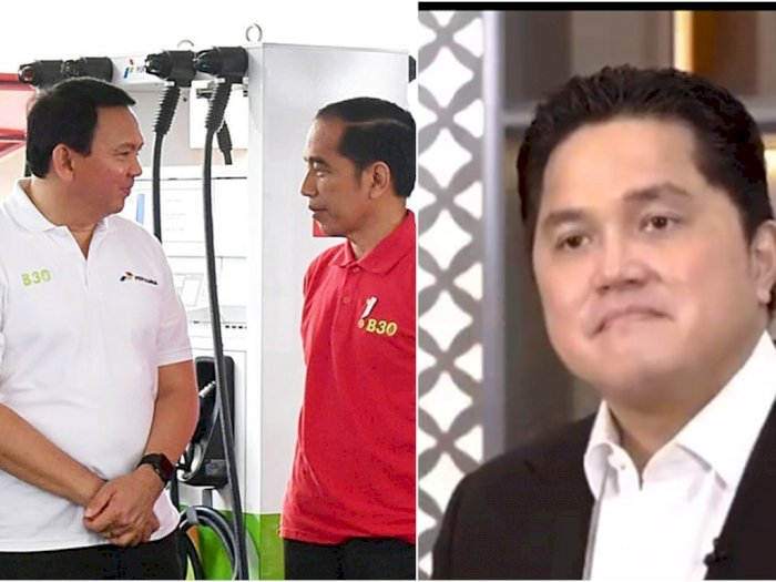 Ahok Berani Petentengan Melawan Menteri BUMN Karena Dibekingi Jokowi, Benarkah?
