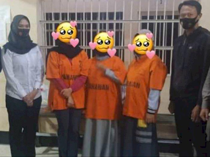 3 Emak-emak yang Gunting Bendera Merah Putih Jadi Tersangka, Terancam Denda Rp500 Juta
