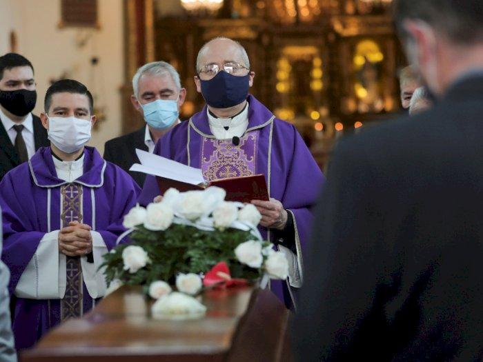 FOTO: Pemakaman Javier Ordonez di Kolombia