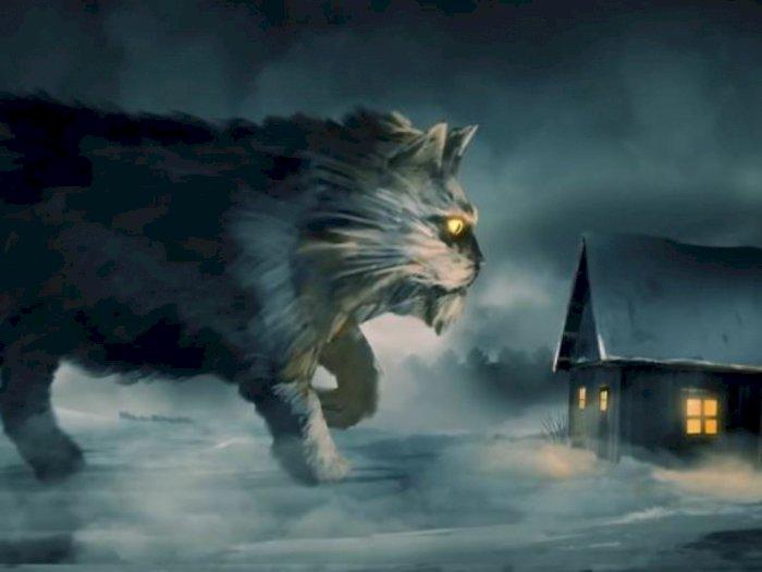 Legenda Kucing Yule yang Menakutkan dan Memangsa Anak-anak
