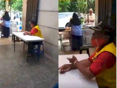 Petugas ini Ngotot Makan di Tempat Padahal Lagi PSBB, Teriak: Saya yang Tukang Tegur