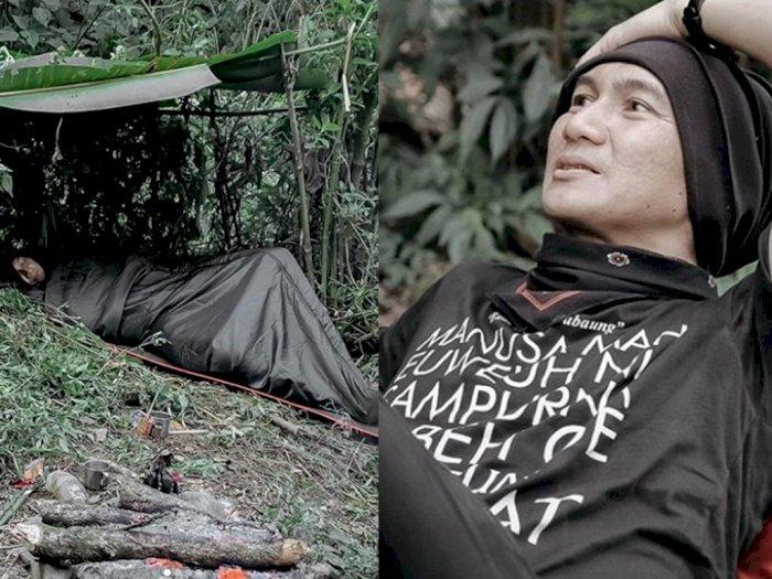 Unggah Foto Tidur di Bivak, Anji Ungkap Manfaat Hidup di Hutan: Lebih Mensyukuri Hidup