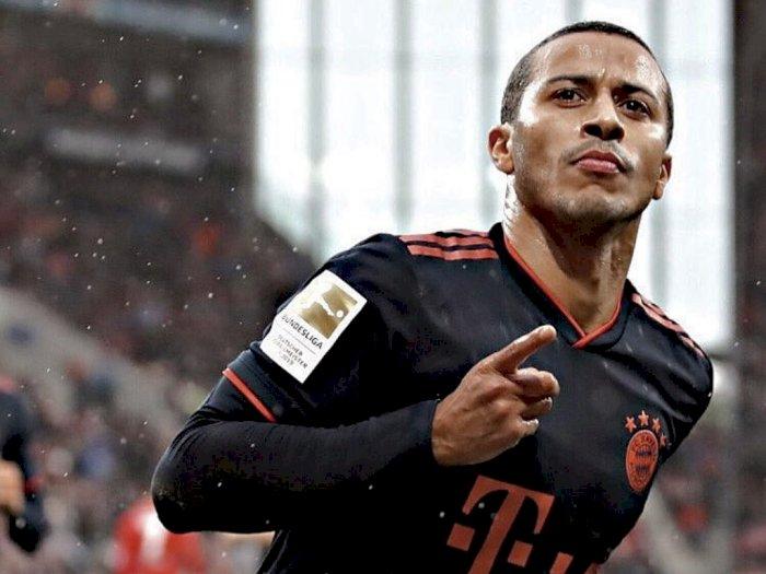 Liverpool dan Bayern Sepakat untuk Transfer Thiago Alcantara di Angka 20 Juta Pounds