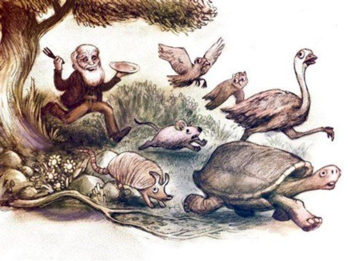 Charles Darwin yang Hobi Menyantap Hewan Penelitiannya