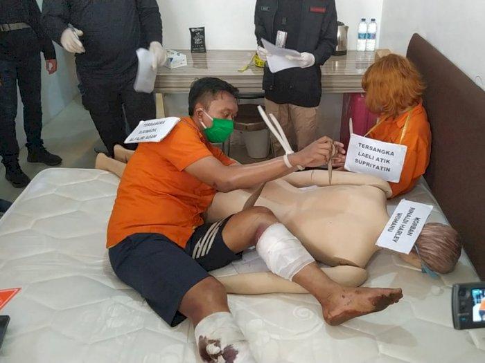 Rekonstruksi Mutilasi Kalibata: Korban Dipukul Hingga Ditusuk Pakai Gunting