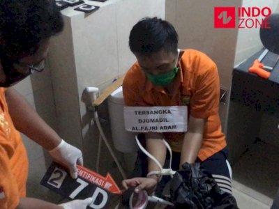 Rekonstruksi Mutilasi Kalibata: Sejoli Sempat Beli Semen untuk Kubur Korban