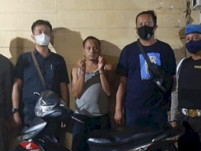 Usai Curi Motor di Simalungun, Pria ini 'Sporing' ke Riau dan Diringkus Polisi