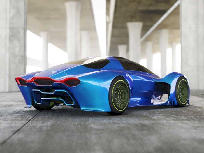 Melihat Konsep Mobil Porsche Project 411 dengan Tampilan Futuristik!