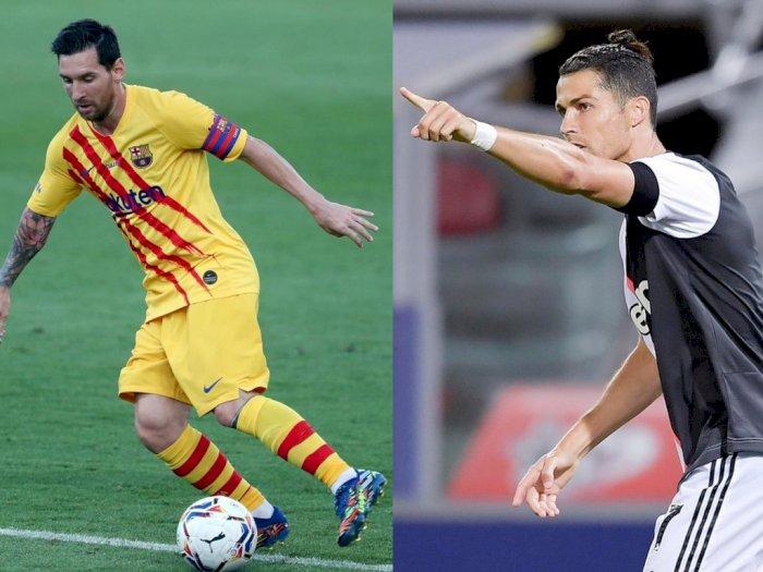 Messi dan Ronaldo Absen dari Nominasi Penghargaan Posisi Liga Champions 2019/2020