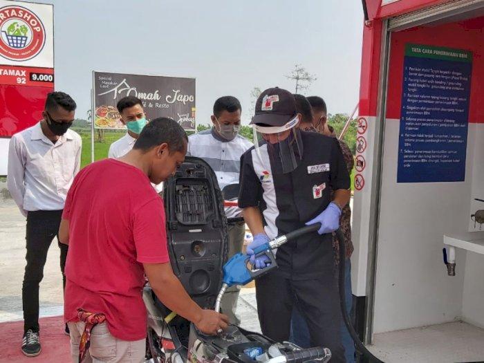 Mudahkan Akses Energi, Pertamina Bangun 62 Pertashop di Jatimbalinus