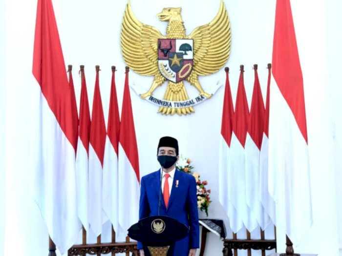 Buka Konferensi GP Ansor, Jokowi Pesan Satukan Semangat Hadapi Corona