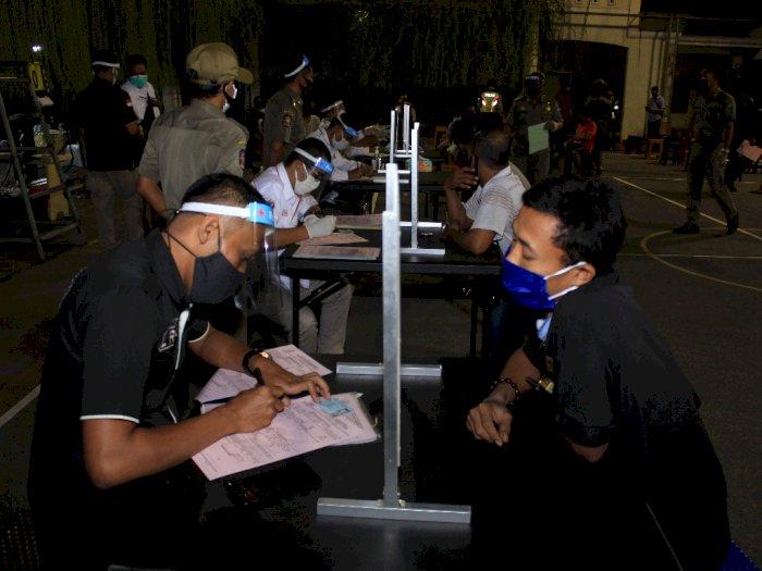 FOTO: Terjaring Tim Pemburu Pelanggar Protokol Kesehatan