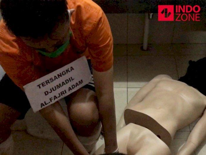 Bikin Merinding, Begini Momen Mutilasi Korban Kalibata City