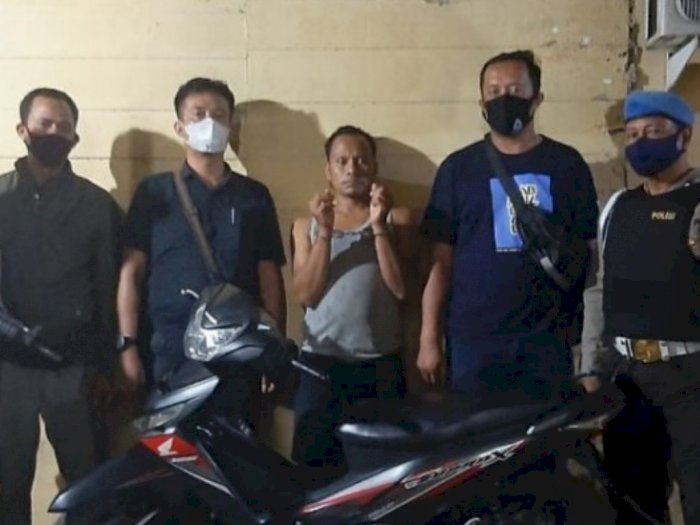 Pencuri Sepeda Motor di Simalungun, Ditangkap di Riau