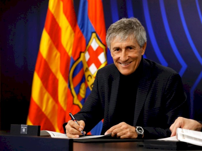 Quique Setien Tempuh Jalur Hukum Atas Sengketa Kontrak dengan Barcelona