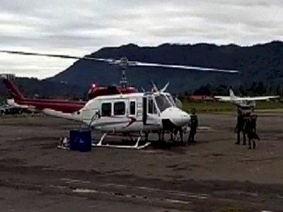 Sempat Hilang Kontak, Basarnas Akhirnya Temukan Heli PT NUH di Papua, Kru Semua Selamat