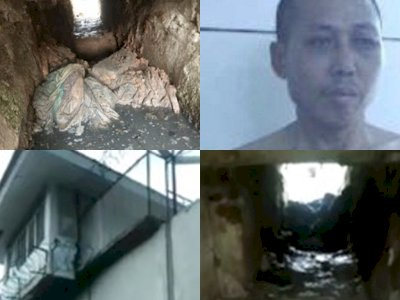 Bandar Narkoba Asal China Kabur dari Lapas Melalui Lubang Buatan, Ternyata Divonis Mati