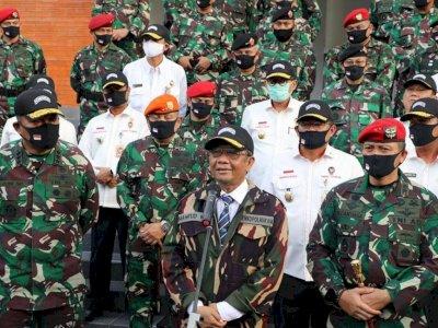 Mahfud MD Minta Pintu Perbatasan Indonesia Perketat Protokol Kesehatan