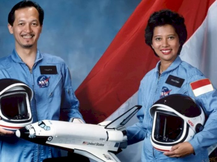 Astronot Wanita Asal Indonesia yang Gagal ke Angkasa, Inilah Kisah Pratiwi Sudarmono