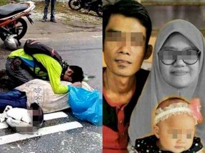 Sedih! Lihat Jenazah yang Meninggal di Jalan Karena Kecelakaan, Ternyata Istrinya Sendiri