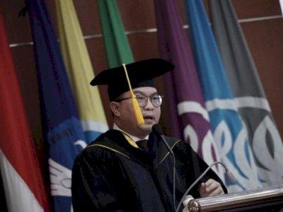 Rektor IPB Arif Satria Positif COVID-19