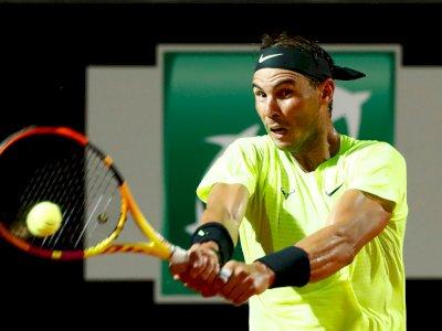 FOTO: Rafael Nadal Melaju ke Perempat Final Italian Open 2020