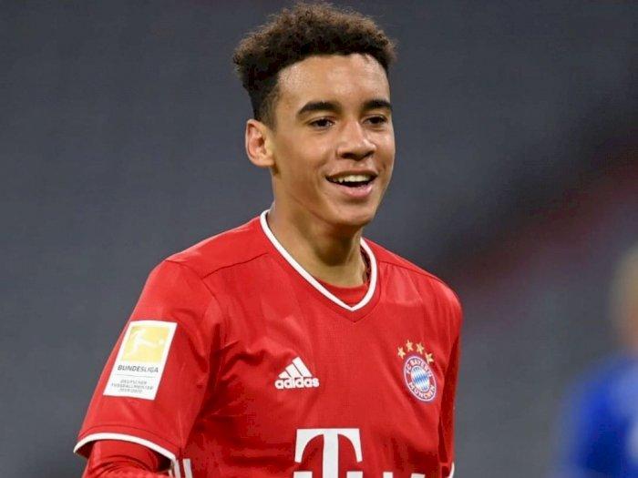 Jamal Musiala Jadi Pencetak Gol Termuda Bayern Saat Bantai Schalke