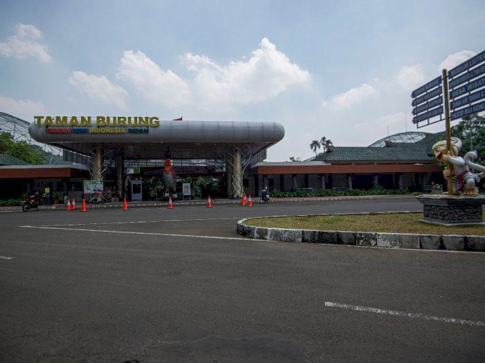 FOTO: Suasana Taman Mini Indonesia Indah Saat PSBB Jakarta